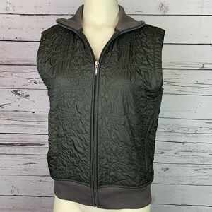 Patagonia Olive/Grey Quilted Vest Size M